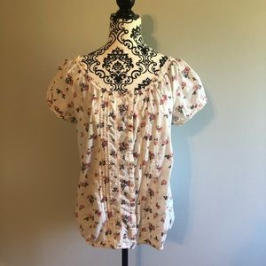 Floral Pattern Maurice's Top